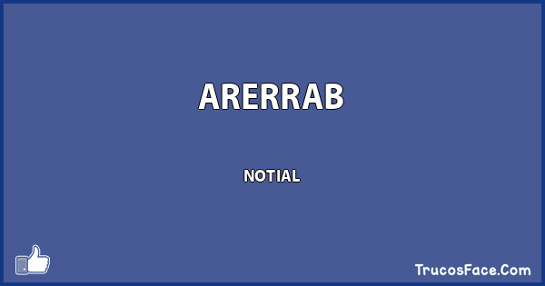 ARERRAB NOTIAL